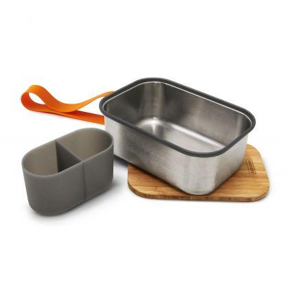 Edelstahl Lunch Box 1250 ml Orange