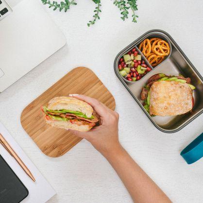 Edelstahl Lunch Box 1250 ml Ozean