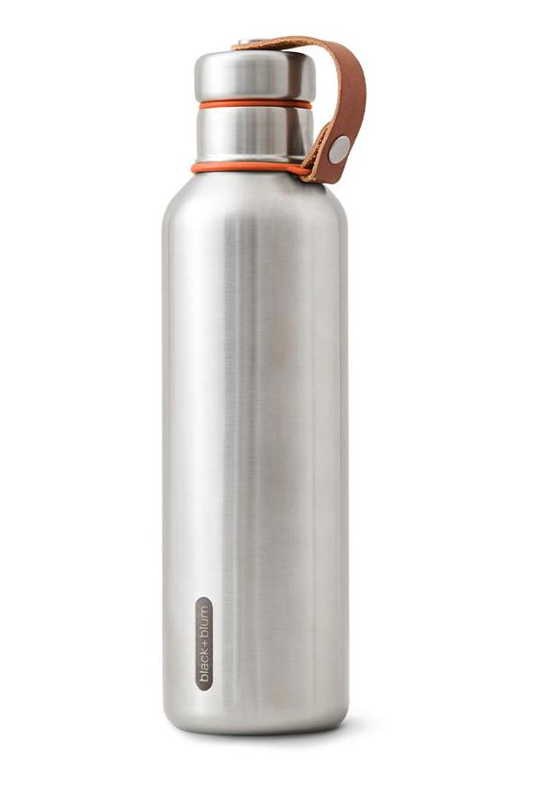 Trinkflasche Edelstahl 750ml Orange