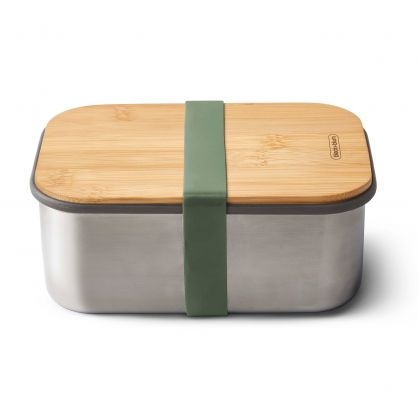Edelstahl Lunch Box 1250 ml Olive
