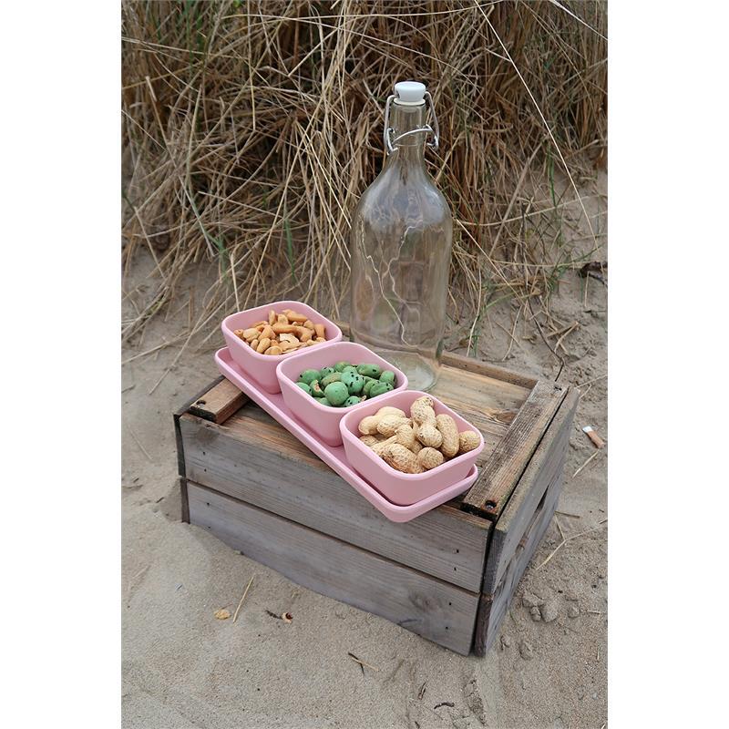 Schalen-Set mit Tablett