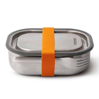 Edelstahl Lunch Box 600 ml Orange