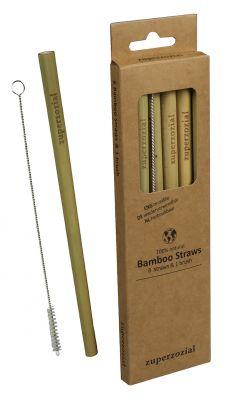 Trinkhalme, Bambus