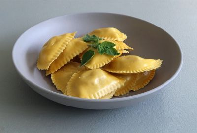 Teller Pasta
